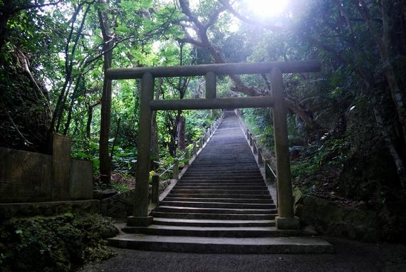 浜比嘉島 勝連町文化財のシルミチュー霊場