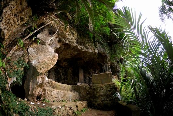 護佐丸の父祖の墓 山田城跡