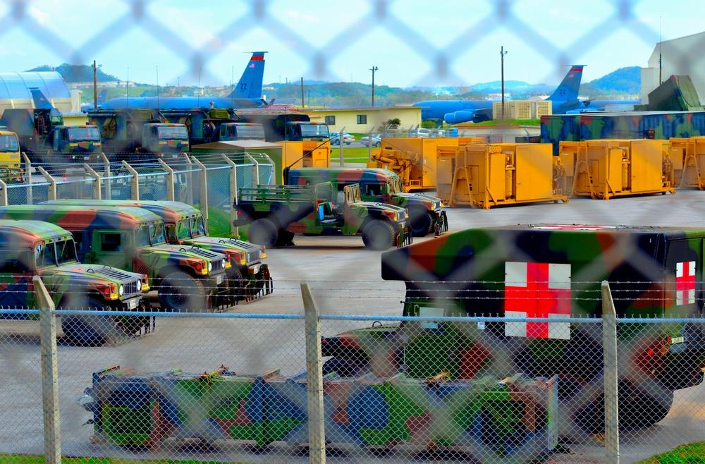 東アジア最大の米軍基地  嘉手納基地