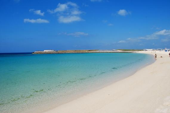 設備の充実したビーチ トロピカルビーチ