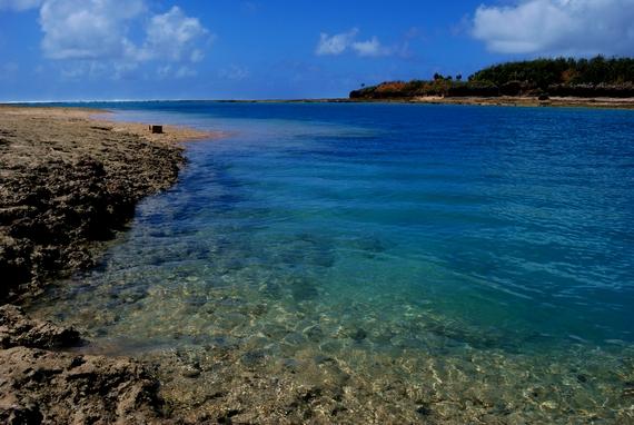 沖縄南部の離島 奥武島 おうじま