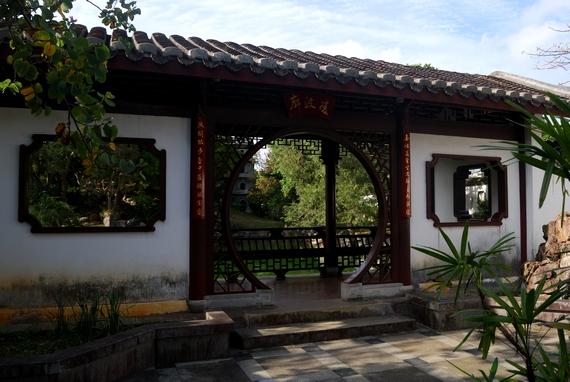 観光の穴場スポット 福州園 中国式庭園