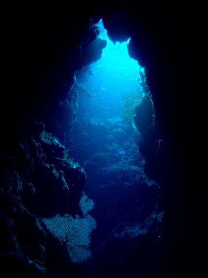 嘉手納町の穴場ダイビングスポット 水釜