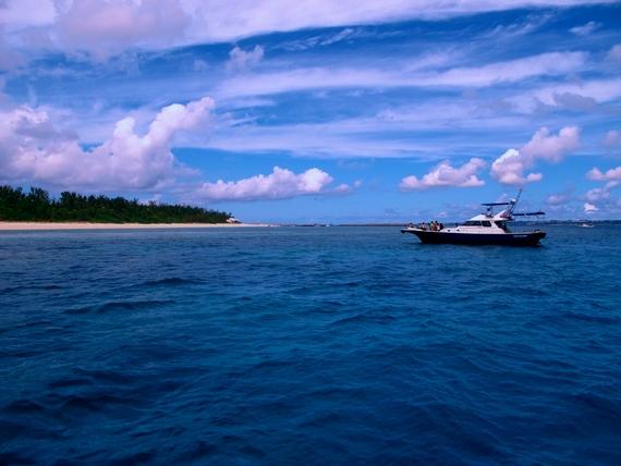 水納島 クロワッサンアイランド
