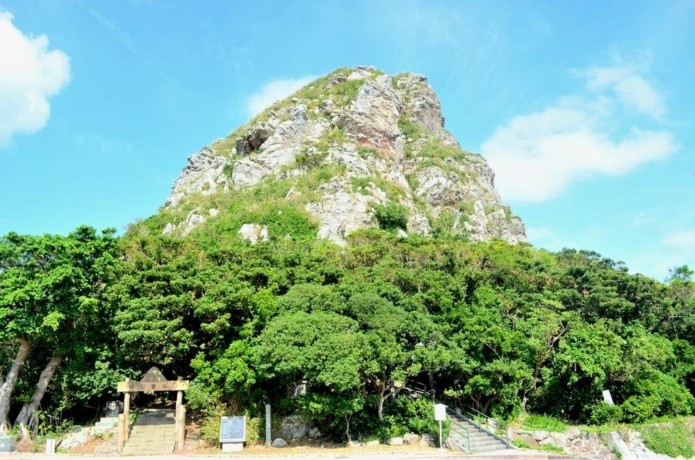 城山・イータッチュー 伊江島